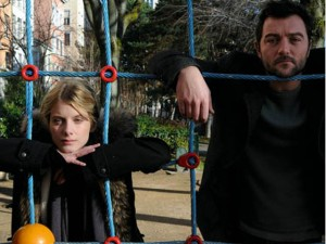 Melanie Laurent and Denis Ménochet star in The Adopted.
