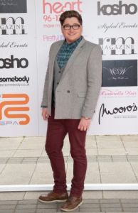 And this one must serve as the Derek Blasberg of Essex Fashion Week.