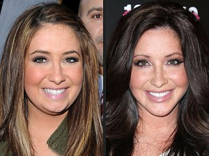 The two faces of Bristol Palin.