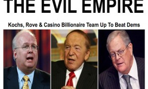 Adelson, Rove & Koch, boil boil toil and trouble.