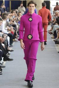 before we get into shorts, Pierre Cardin showed tons of utter nonsense.