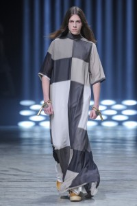 Rick Owens doesn't know from shorts. Skirts and dresses... yes. Shorts, no. Which is why you gotta love him.