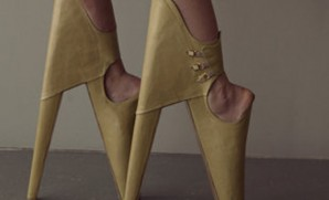 These make those McQueen Lady Gaga shoes seem like Uggs.