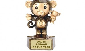 There's an award for everything. Why not for Gross Baboon?