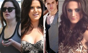 The befores and afters of Klhloe kardashian Odom and the guy plahying her.