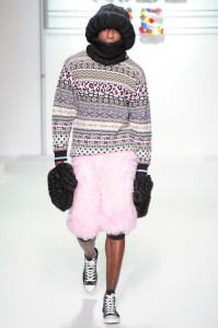Of course the fur skort needs to be in pink. Duh.