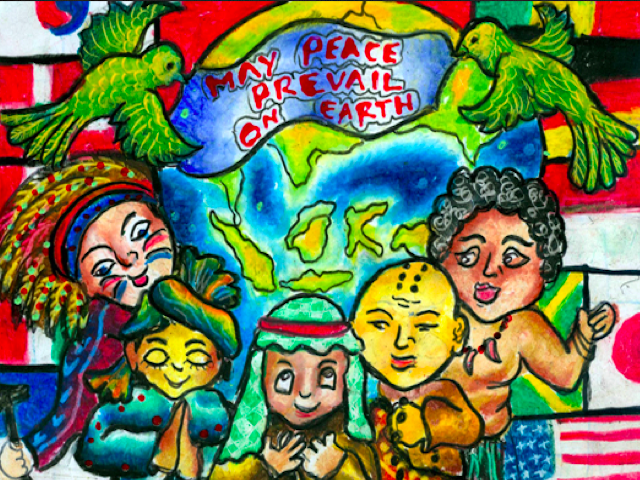May Peace Prevail On Earth