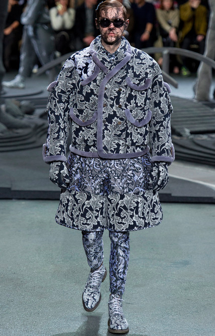 Thom Browne Fall '14 Designer Fat Suit