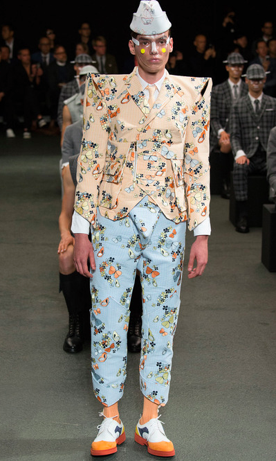 Thom Browne Spring '14 Butterflies Are Free
