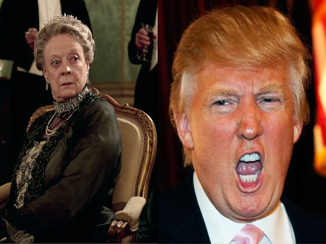 Downtown Abbey & @realDonaldTrump End 2016