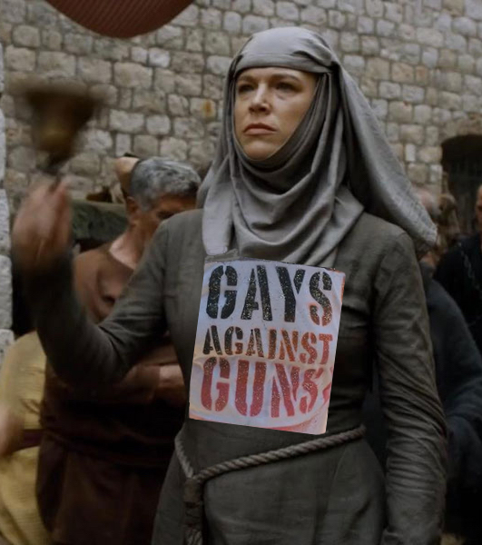 I have enrolled the Unella, Shame Nun from Game of Thrones to join GAG-LA!