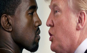 Kanye West + Donald Trump = Gross Baboon Squared