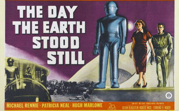"""I am fearful when I see people substituting fear for reason."" Klaatu (Man from Outer Space)"